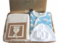 New Baby Gift Basket Range by Mulberry Organics
